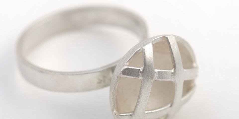 Ring carré